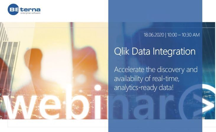 Accelerate your business value with Qlik Data Integration