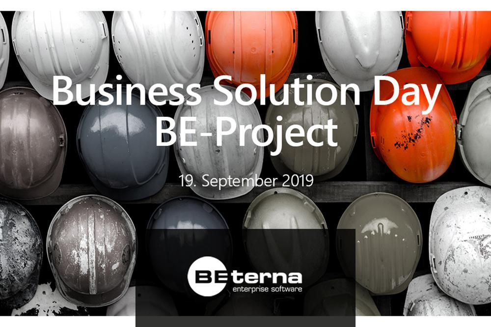 BE-Project Business Solution Day 2019 in Leipzig