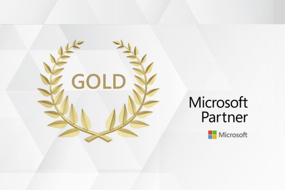 Further gold competence award for BE-terna as a Microsoft partner in the area of