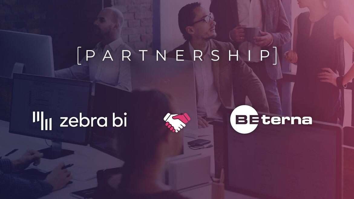 BE-terna partners with Zebra BI to make the Power BI reports even more powerful